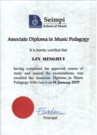 Associate Diploma in Music Pedagogy
