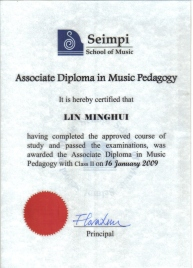 Associate Diploma in Music Pedagogy